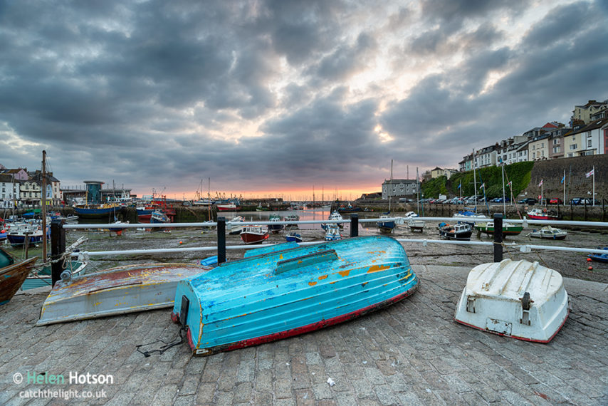 Sunrise over Brixham Harbour