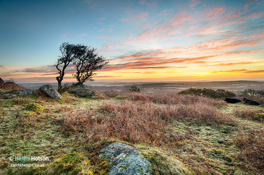 Frosty Sunrise at Helman Tor