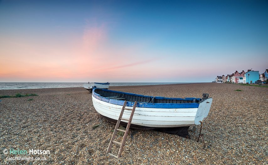 Sunrise over Fishing Boats at Aldeburgh