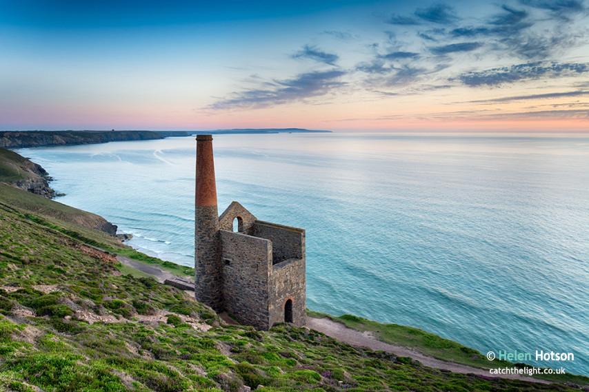 Wheal Coates on the Cornish Coast